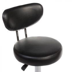 Kosmetický taburet BT-229 černý