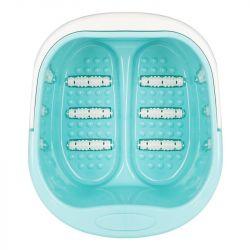 Hluboká mísa pro pedikúru s masážními válečky- modrá