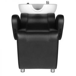 Kadeřnický mycí box HSB07 - černý