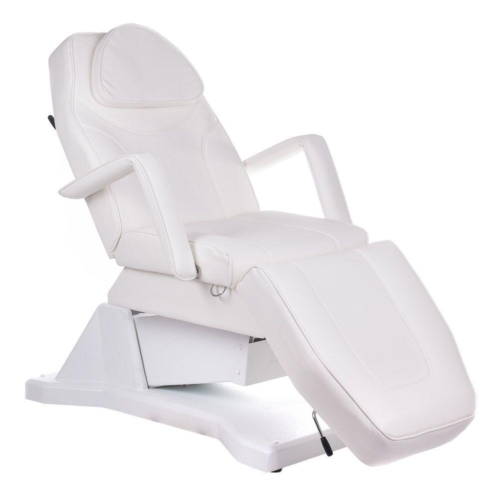 Elektrické kosmetické křeslo BW-245 bílé
