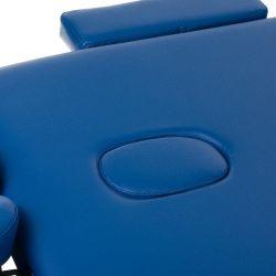 Skládací masážní a rehabilitační stůl BS-723 - modrý