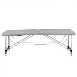 Skládací masážní stůl KOMFORT - šedý