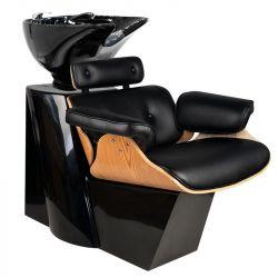 GABBIANO Kadeřnický mycí box FLORENCE - černý