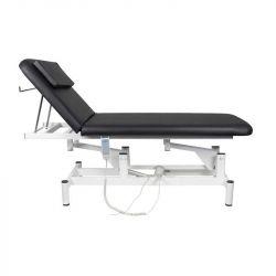 Elektrické masážní lehátko 079 - 1 motor - černé