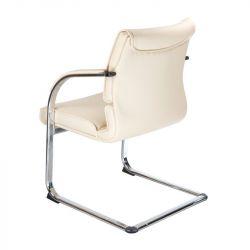 Konferenční židle / židle do čekárny BX-3339B krémová