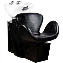 Kadeřnický mycí box GABBIANO AMSTERDAM černý