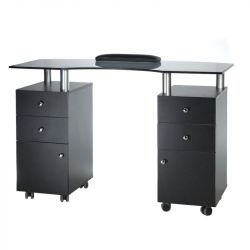 Kosmetický stolek na manikúru BD-3453 černý (BS)