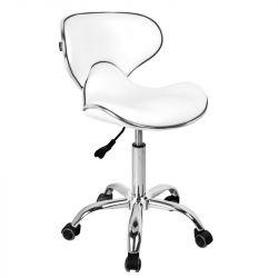 Kosmetická židle GABBIANO Q-4599 bílý (AS)