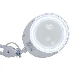 Stolní lampa s lupou ELEGANTE 6025 60 LED SMD 5D (AS)