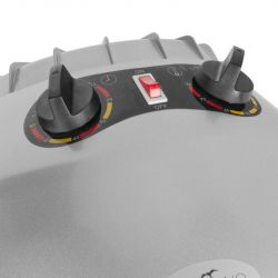Vysoušecí helma na stojanu GABBIANO LI-201S 1 rychlostní sříbrná