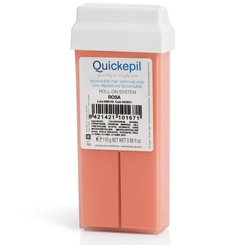 Depilační vosk QUICKEPIL - rolka 100g růže