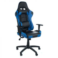 Kancelářská židle RACER CorpoComfort BX-3700 modrá (BS)