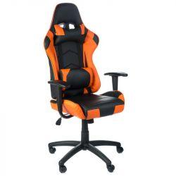 Kancelářská židle RACER CorpoComfort BX-3700 oranžová (BS)