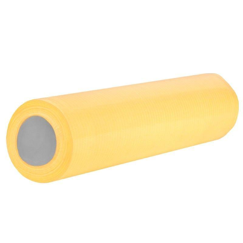 Jednorázová kosmetická papírová role žlutá