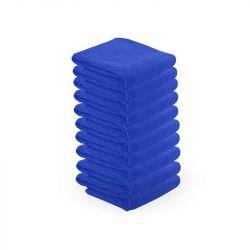 Ručník z mikrovlákna 73 x 40cm 10ks - modrý (AS)