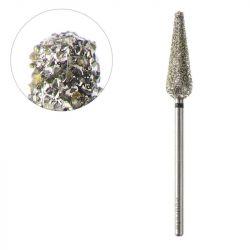 Frézka na pedikúru diamantová kužel 6,0/20,0mm ACURATA (AS)