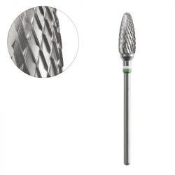 Frézka na pedikúru ocelový ovál 6,0/14,0mm ACURATA 2 (AS)