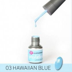 Gelový lak 3. HAWAIIAN BLUE (A)