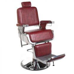 Barbers křeslo LUMBER BH-31823 Burgundi (BS)