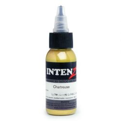 Tetovací barva Intenze Ink 30ml, Andy Engel - Chartreuse (K)