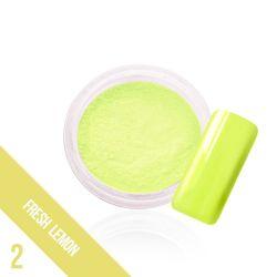 Svítící zdobný prach Glow - 2. Fresh Lemon  (A)