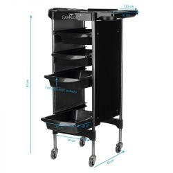 GABBIANO Odkládací stolek FX11-2 černý